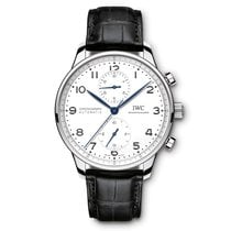 IWC Portuguese Chronograph Steel 41mm White Arabic numerals United States of America, Florida, Hollywood