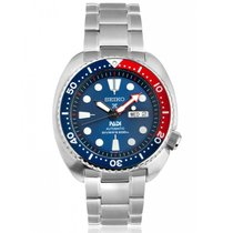 Seiko Prospex Steel 45mm Blue No numerals