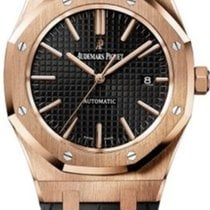 Audemars Piguet Royal Oak Selfwinding Rose gold 41mm Black No numerals United States of America, New York, New York