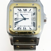 Cartier Santos (submodel) 1170902 Good Gold/Steel 24mm Automatic