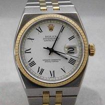 Rolex Datejust Oysterquartz Otel 36mm Alb Roman