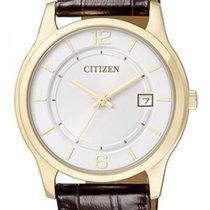 Citizen Acier 37mm Quartz BD0022-08A nouveau