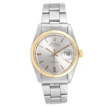 Rolex Air King Date Acero y oro 34mm Plata