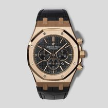 Audemars Piguet Royal Oak Chronograph Rose gold 41mm Black United States of America, New York, New York