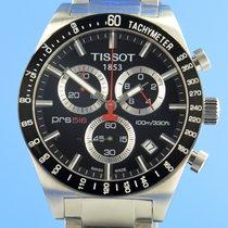 Tissot PRS 516 Stahl 42mm Schwarz