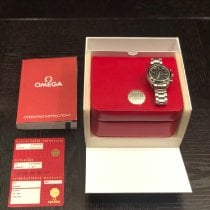 Omega Speedmaster Date Steel 40mm Black No numerals United States of America, Texas, Brownsville