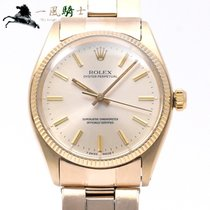 Rolex Oyster Perpetual 34 Yellow gold 34mm Champagne