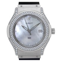 Hublot Elegant Steel 42mm Mother of pearl No numerals United States of America, Florida, Surfside
