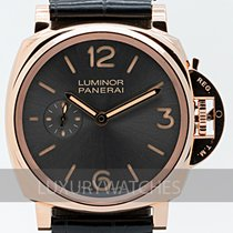Panerai Luminor Due Aur roz 42mm Gri