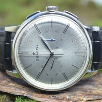 Zenith Elite Chronograph Classic Steel 42mm Silver