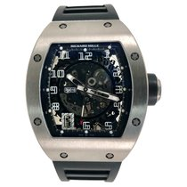 Richard Mille Titanium Automatic Transparent Arabic numerals 48mm new RM 010