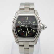 Cartier 2510 Steel Roadster 37mm pre-owned United States of America, California, Marina Del Rey