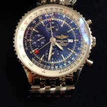 Breitling Navitimer World Stahlband Chronograph A2432212/C651/...