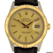 Rolex thunderbird turn o graph vintage