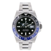 Rolex GMT MASTER II Black and Blue Ceramic Watch 116710BLNR