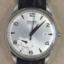 Union Glashütte Noramis Power Reserve Steel 40,00mm Silver Arabic numerals