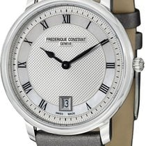 Frederique Constant Slimline Steel Silver United States of America, New York, Brooklyn