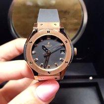 恒寶 (Hublot) Classic Fusion Quartz  Gold 33mm Ladies Watch