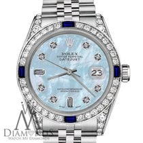 Rolex Lady-Datejust Staal 31mm Blauw