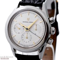 Universal Genève COMPAX Chronograph Ref-884-480 Stainless...