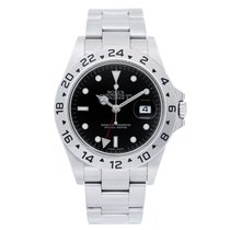 Rolex Explorer II Men's Stainless Steel Watch 16570 Black...