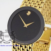Movado Museum Watch solid 18K Yellow Gold from 2008 B &P