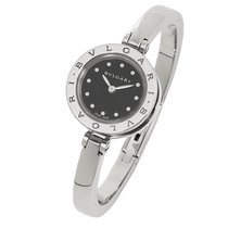 Bulgari B-ZERO1 S LADIES DIAMONDS BLACK DIAL