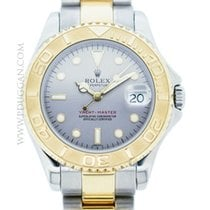 Rolex mid-size stainless steel and 18k yellow gold YachtMaster