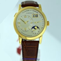 A. Lange & Söhne Lange 1 Yellow gold 38mm Champagne Roman numerals United States of America, California, Newport Beach