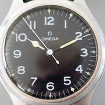 Omega occasion Remontage manuel 36mm Noir Plexiglas