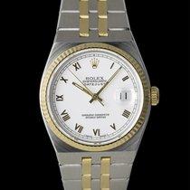 Rolex Datejust Oysterquartz Gold/Stahl 36mm Weiß