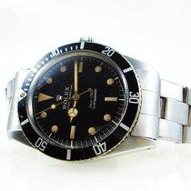 Rolex 6536 Сталь 1956 Submariner (No Date) 37mm подержанные
