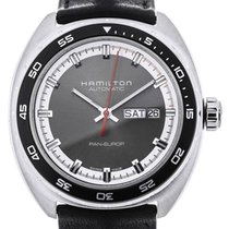 Hamilton 42mm Automatic new Pan Europ Grey