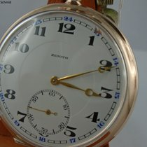 Zenith Silver Manual winding White Arabic numerals 52mm pre-owned