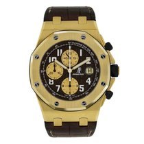 Audemars Piguet Royal Oak Offshore Yellow gold 42mm Brown Arabic numerals United States of America, New York, New York