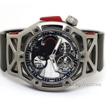 Hublot Techframe Ferrari Tourbillon Chronograph new 45mm Titanium
