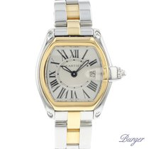 Cartier Roadster tweedehands 30mm Goud/Staal