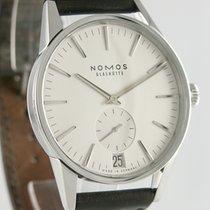 NOMOS 40mm Automatik 2012 gebraucht Zürich Datum Silber