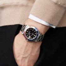 Rolex GMT-Master Acier 40mm Noir