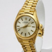Rolex Oyster Perpetual 26 Жёлтое золото Без цифр