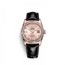 Rolex nuevo Automático 36mm Oro rosado Cristal de zafiro