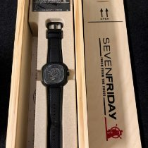 Sevenfriday P3-1 Steel Black