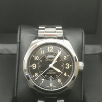 Hamilton Khaki Field Day Date new 2010 Automatic Watch with original box and original papers H70505933