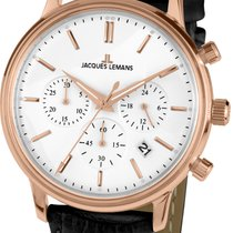 Jacques Lemans Women's watch 39mm Quartz new Watch with original box and original papers