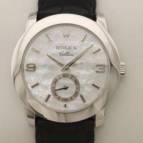 Rolex Cellini Platina 35mm Sedef-biserast Arapski brojevi