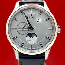 Zenith Captain Moonphase Steel 40mm Silver
