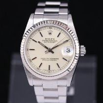 Rolex Lady-Datejust Acél 31mm Ezüst Római