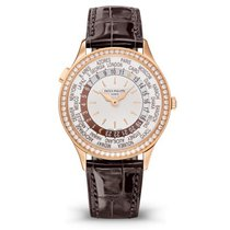 Patek Philippe World Time Rose gold 36mm Champagne United States of America, Florida, Miami