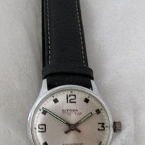 Bifora Steel 30mm Manual winding pre-owned Finland, Imatra