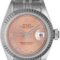Rolex Ladies Rolex Datejust Watch 79174 Factory Salmon Dial
